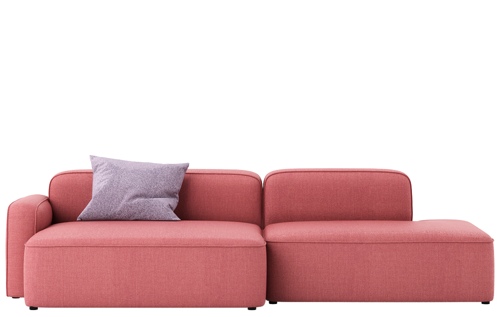 3d model Rope Sofa Chaise Lounge Left by Normann-Copenhagen