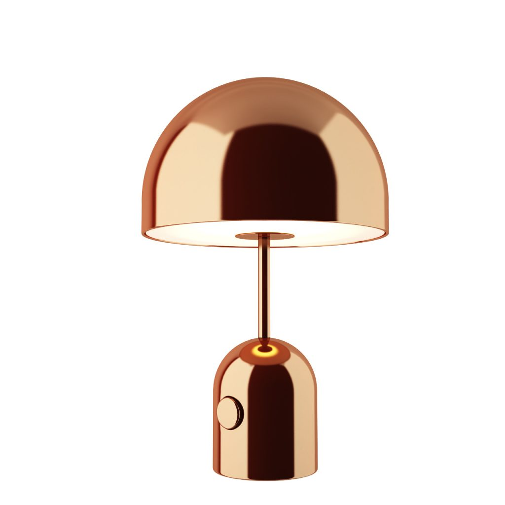 3d model Bell Table Lamp Copper by Tom Dixon