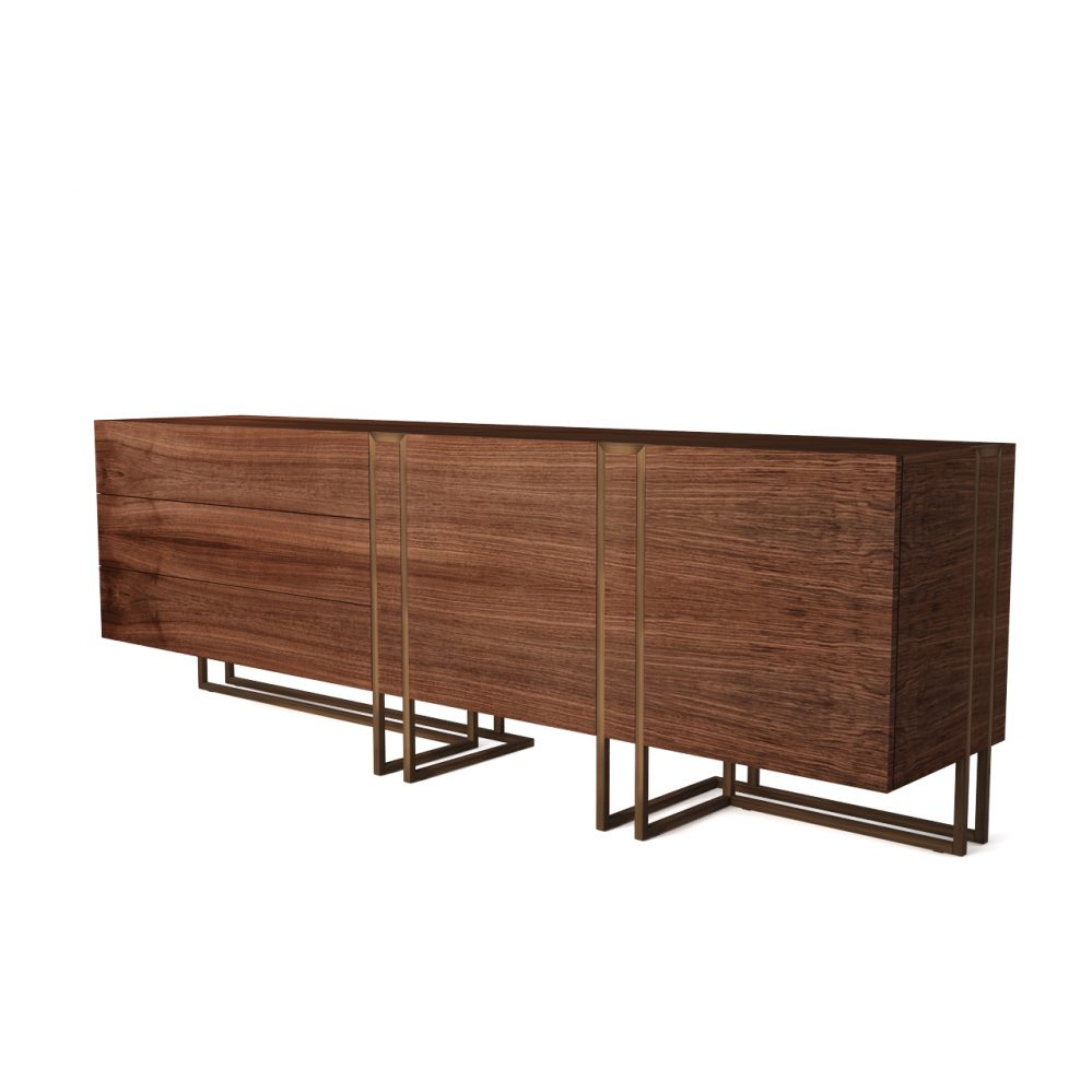 Cage sideboard by emmemobili dimensiva for Sideboard 3d