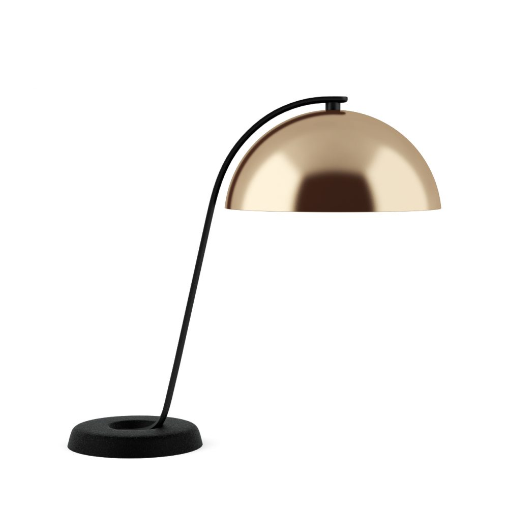 Cloche table lamp by wronglondon dimensiva for Off set floor lamp