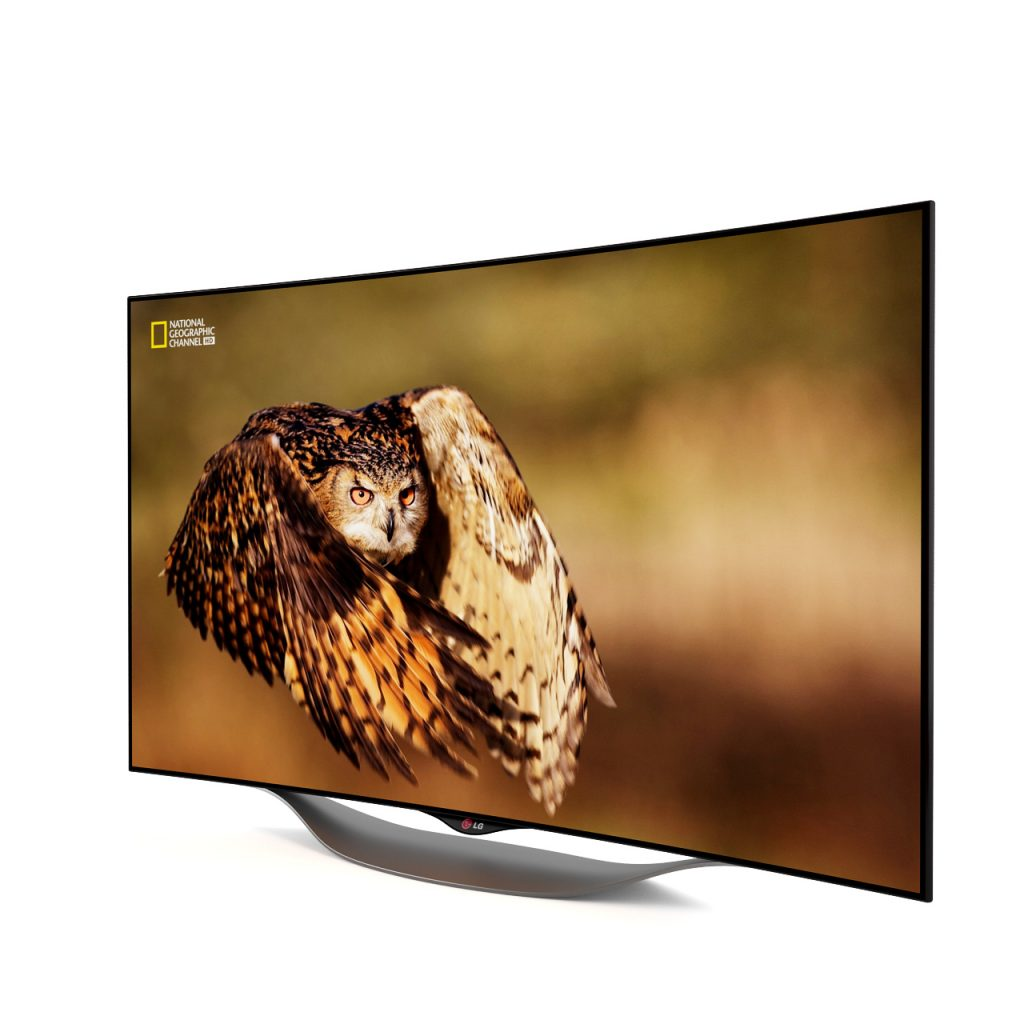 3d model Curved Oled Tv 55EC9300 by LG