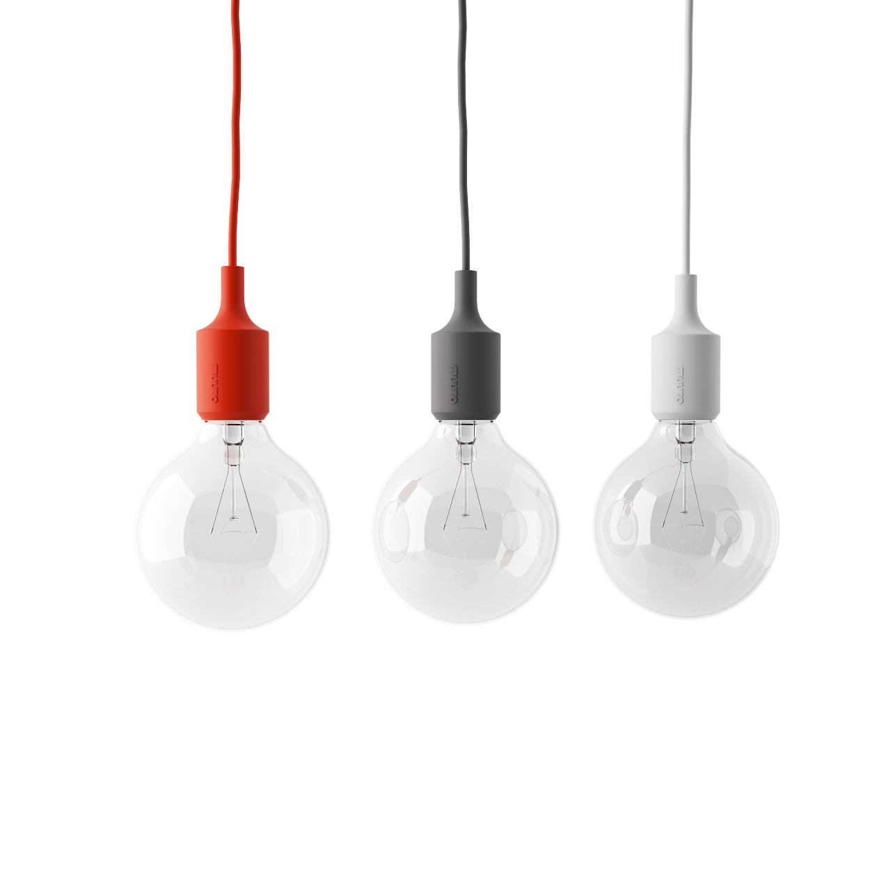 Hanging Ceiling Light 3d Autocad Model: E27 Pendant Lamp By Muuto