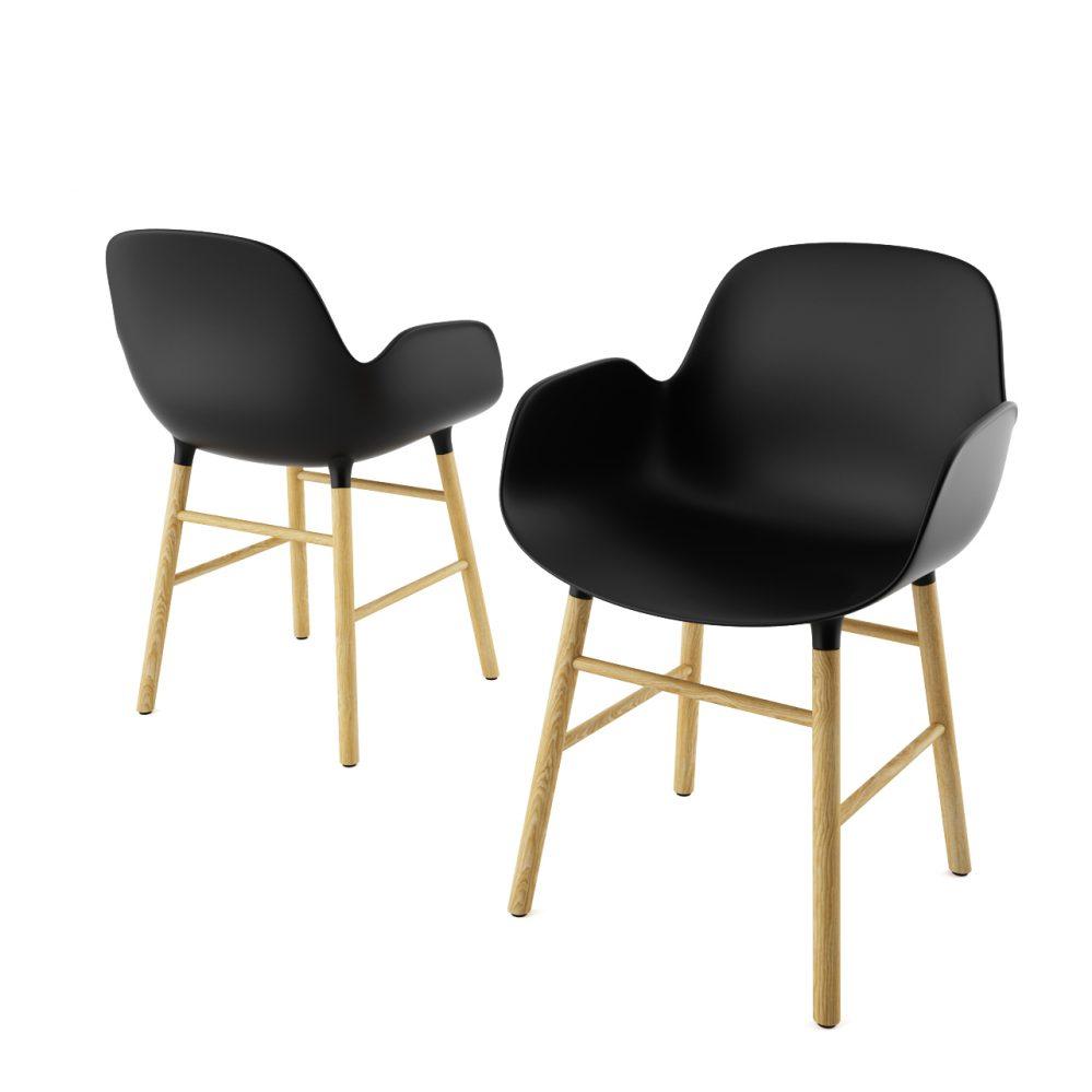 3d model Form Armchair by Normann Copenhagen