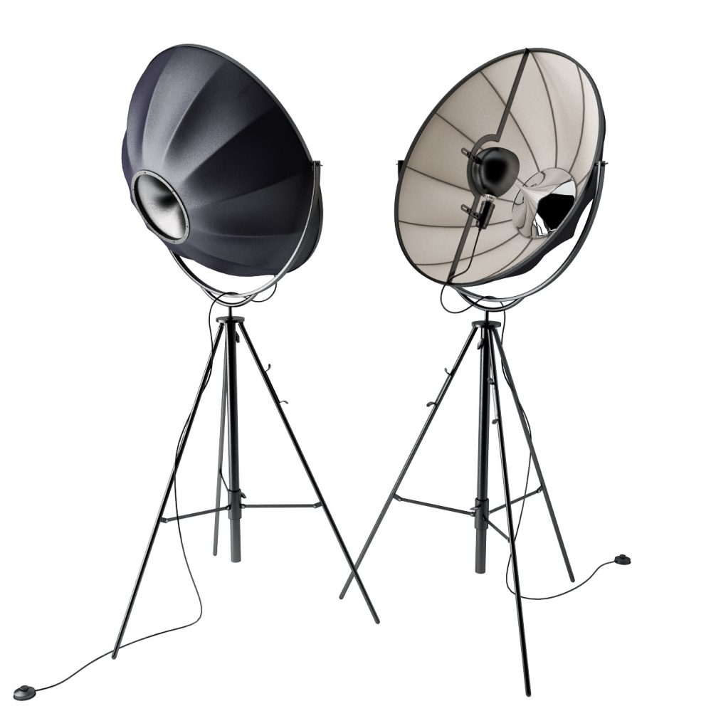 3d model Fortuny Stage Lamp by Pallucco