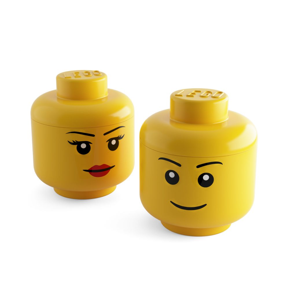 3d model Large Storage Head by Lego