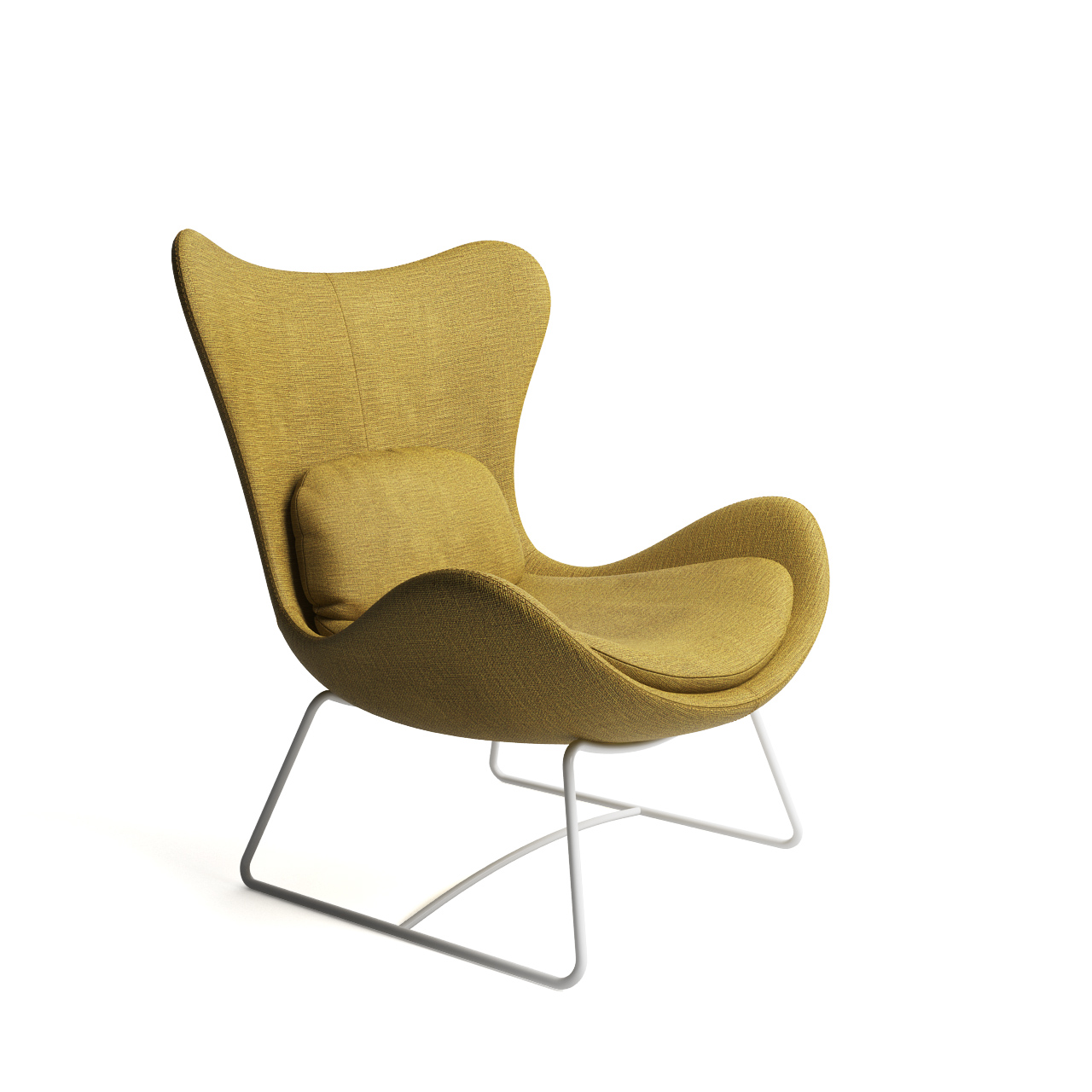 Lazy Armchair By Calligaris Dimensiva