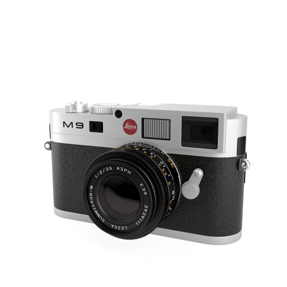 3d model Leica M9 Digital Camera by Leica