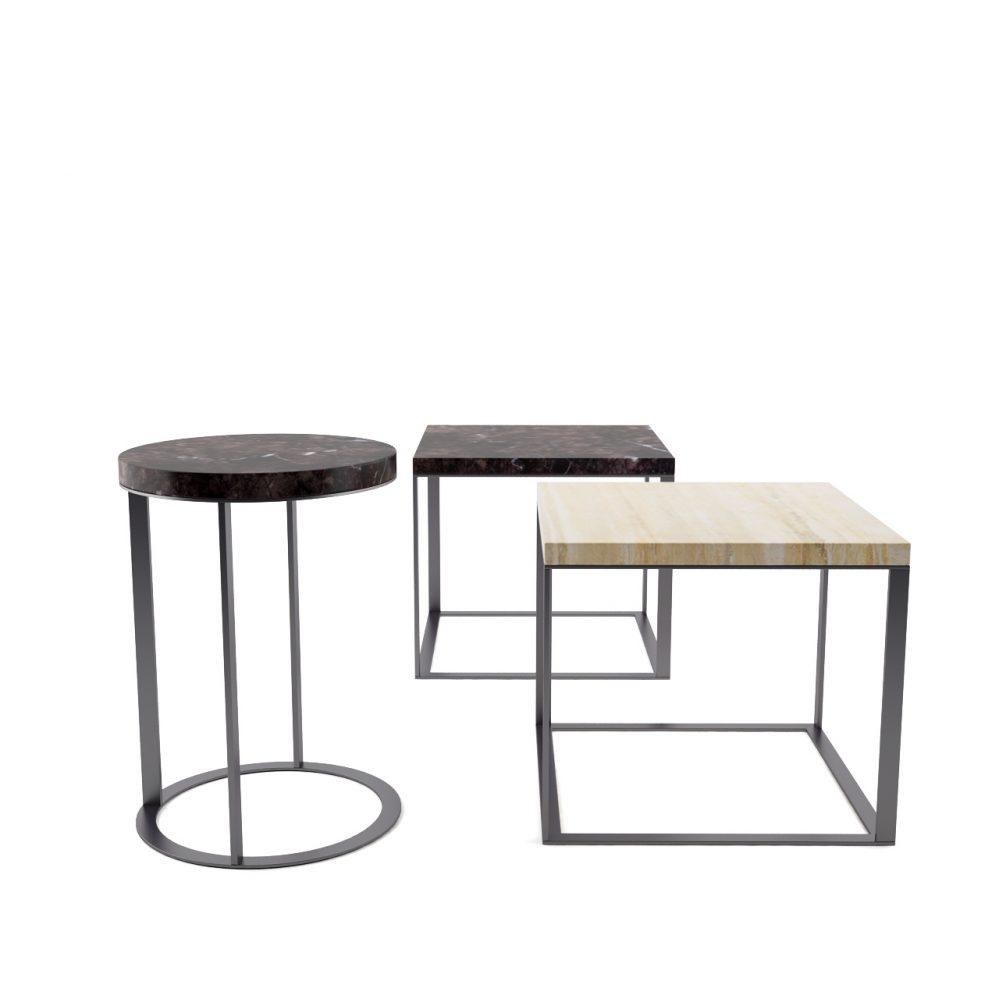 3d model Lithos Tables by B&B Italia