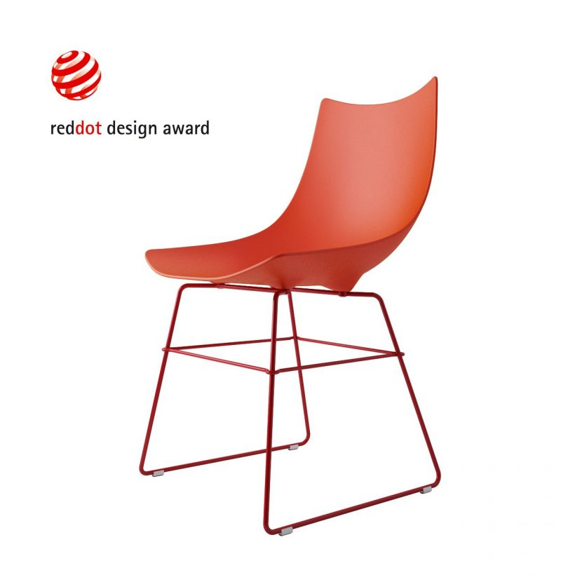 3d model Luc Chair by Rossin