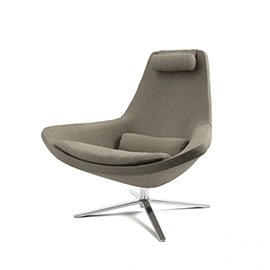 3d model Metropolitan Armchair by B&B Italia