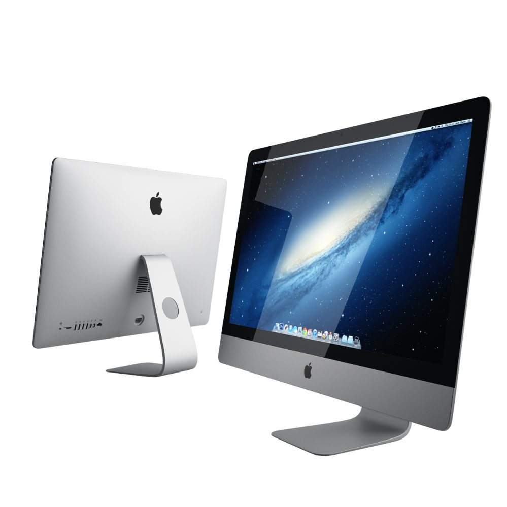 New imac by apple dimensiva for Mobel 3d download
