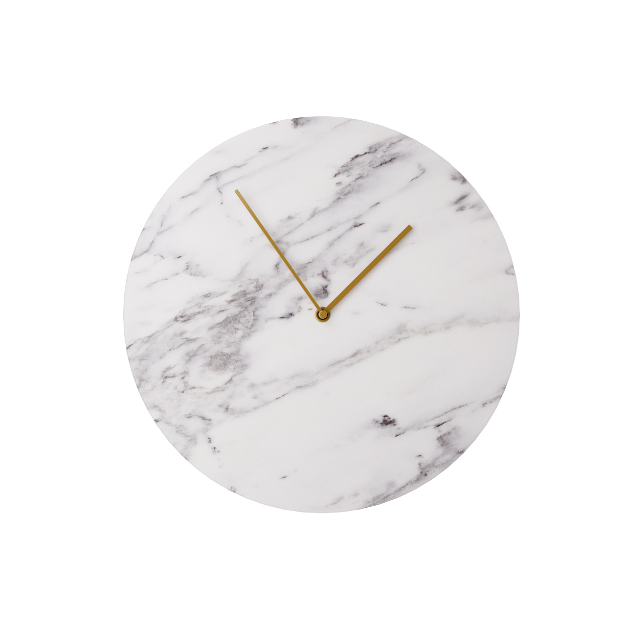Marble Wall Clock By Norm Architects Dimensiva