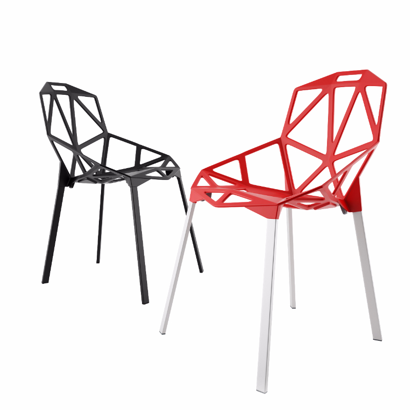 3d model One Chair by Magis