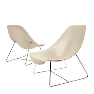 3d model Oyster Light Armchair by i4Marini