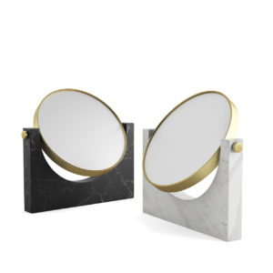 3d model Pepe Marble Mirror by Menu
