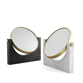 3d model Pepe Marble Mirror by Menu