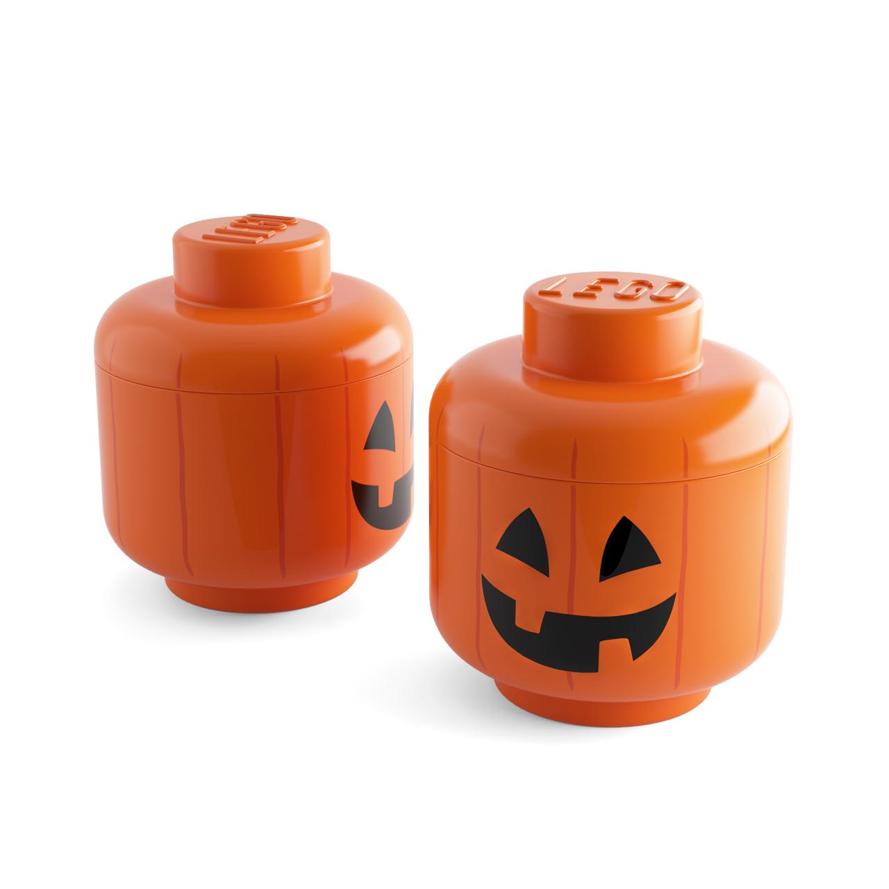 Pumpkin Storage Head by Lego