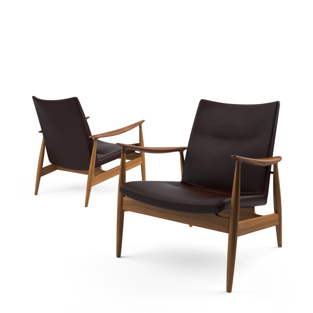 3d model Rivage Easy Chair by Ritzwell