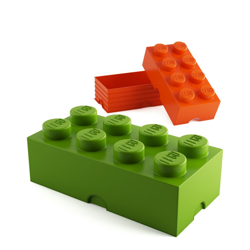 3d model Storage Brick 8 by Lego