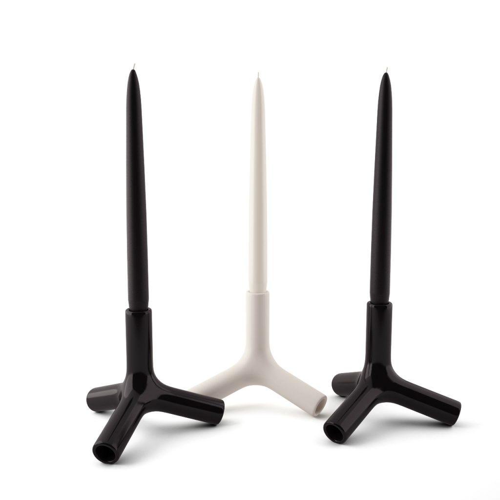 3d model Tetra Candle Holder by B&B Italia