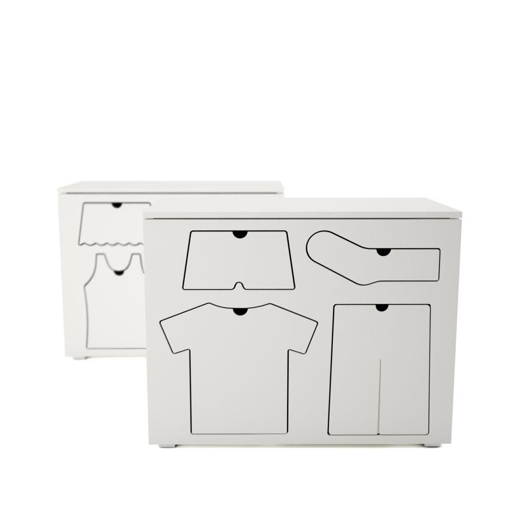 3d model Training Dresser by Peter Bristol