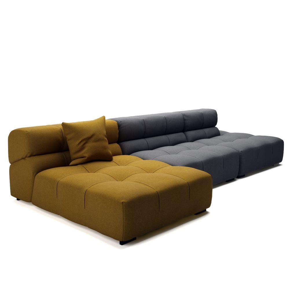 Tufty Time 15 Sofa By B B Italia Dimensiva