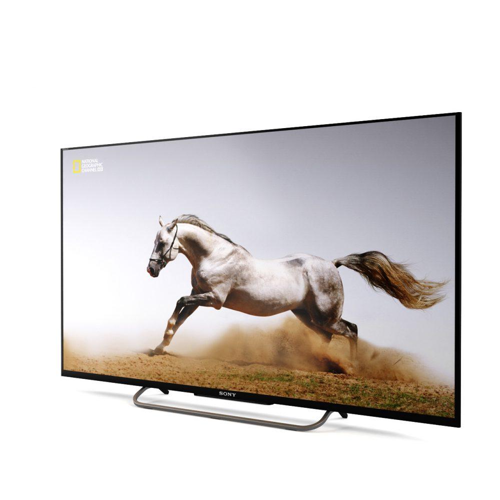 3d model W8 LED TV by Sony