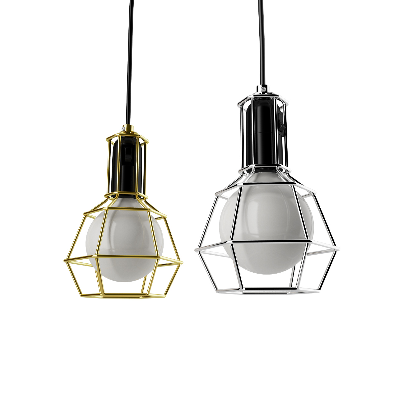 Work Pendant Lamp by Design House Stockholm - Dimensiva