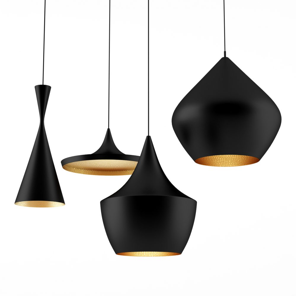beat lights by tom dixon dimensiva. Black Bedroom Furniture Sets. Home Design Ideas