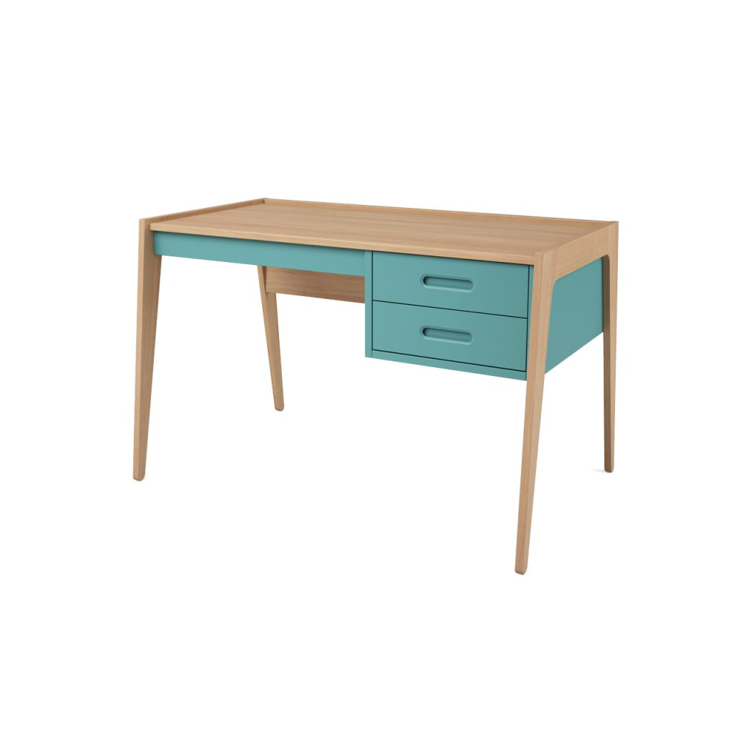 3d model Desk - Green by Nobodinoz