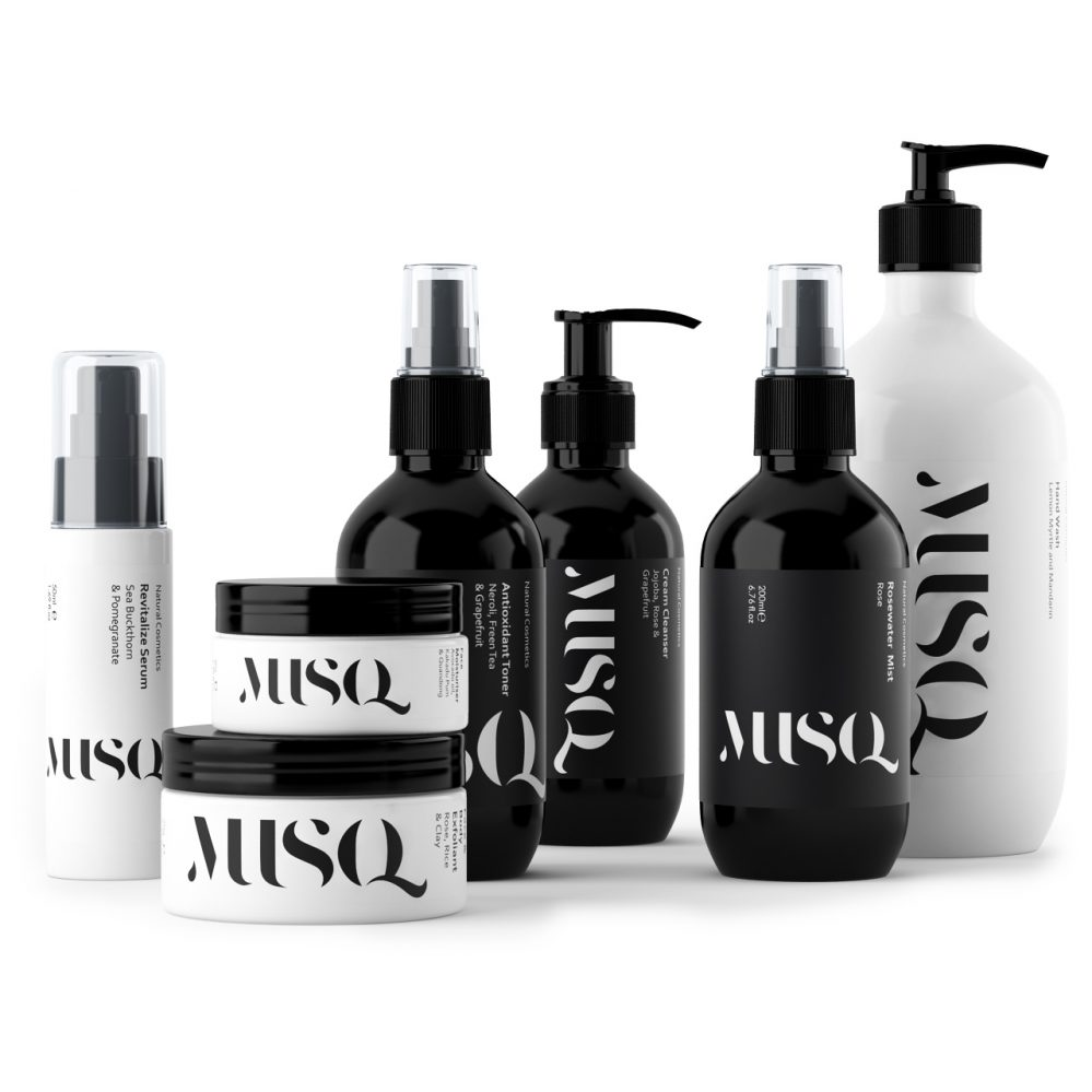 3d model Skincare Cosmetics by Musq