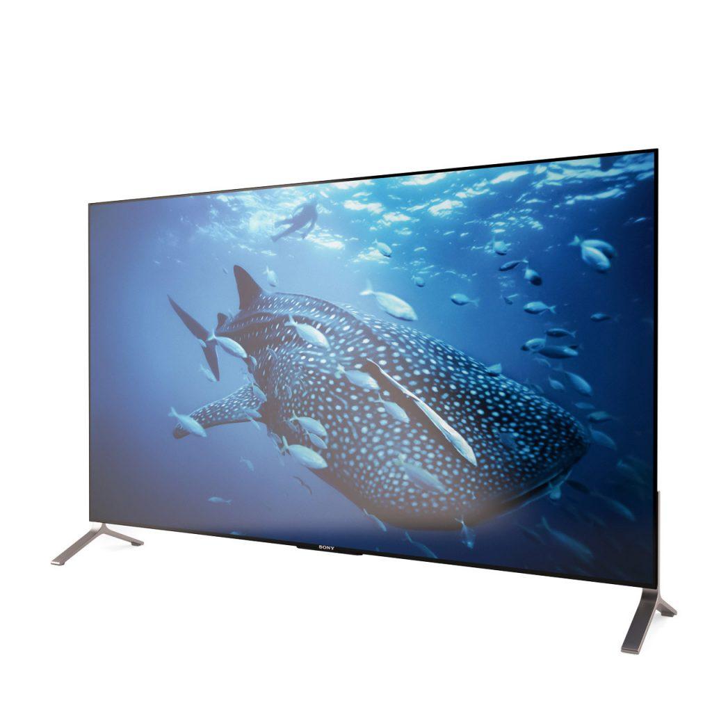 3d model 4K Bravia X900C TV by Sony
