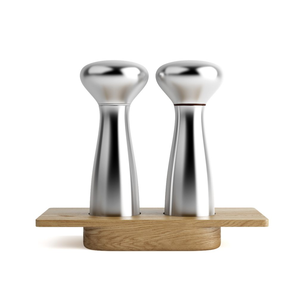 alfredo salt and pepper mills by georg jensen dimensiva. Black Bedroom Furniture Sets. Home Design Ideas