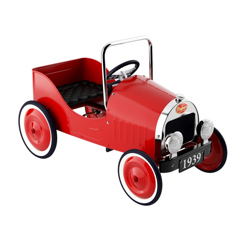 3d model Classic Pedal Car by Baghera