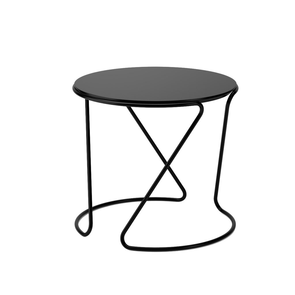 3d model S 18 Side Table by Thonet
