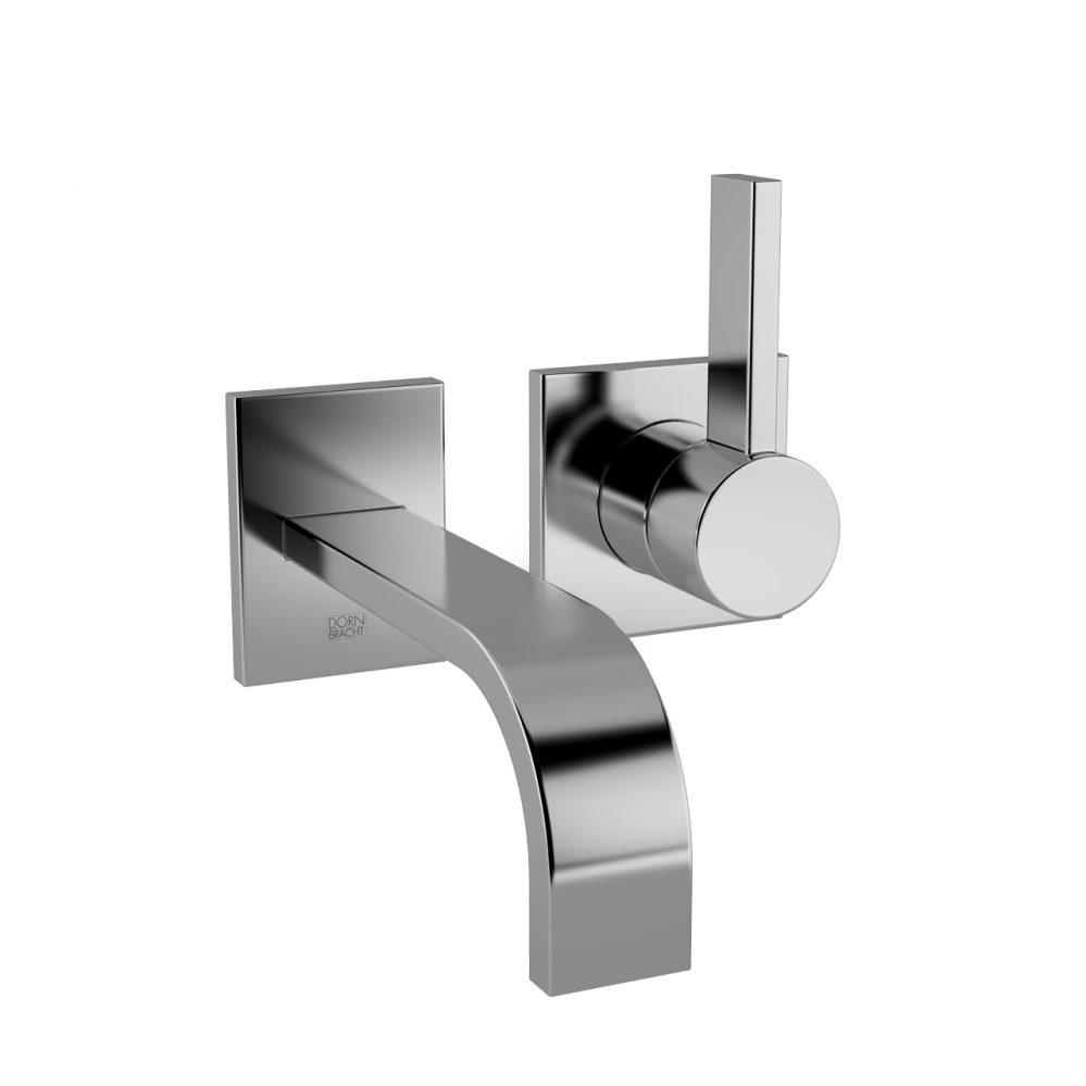 3d model Mem Wall Mounted Basin Mixer With Two Rosettes by DornBracht