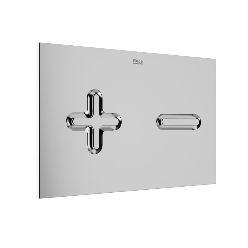 3d model PL6 Dual Flush Plate by Roca
