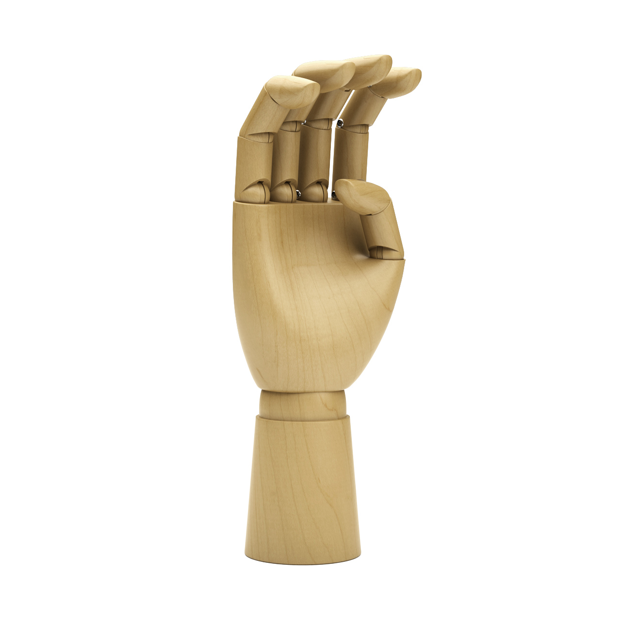 Wooden Hand by Hay