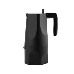 Ossidiana Coffee Maker by Alessi