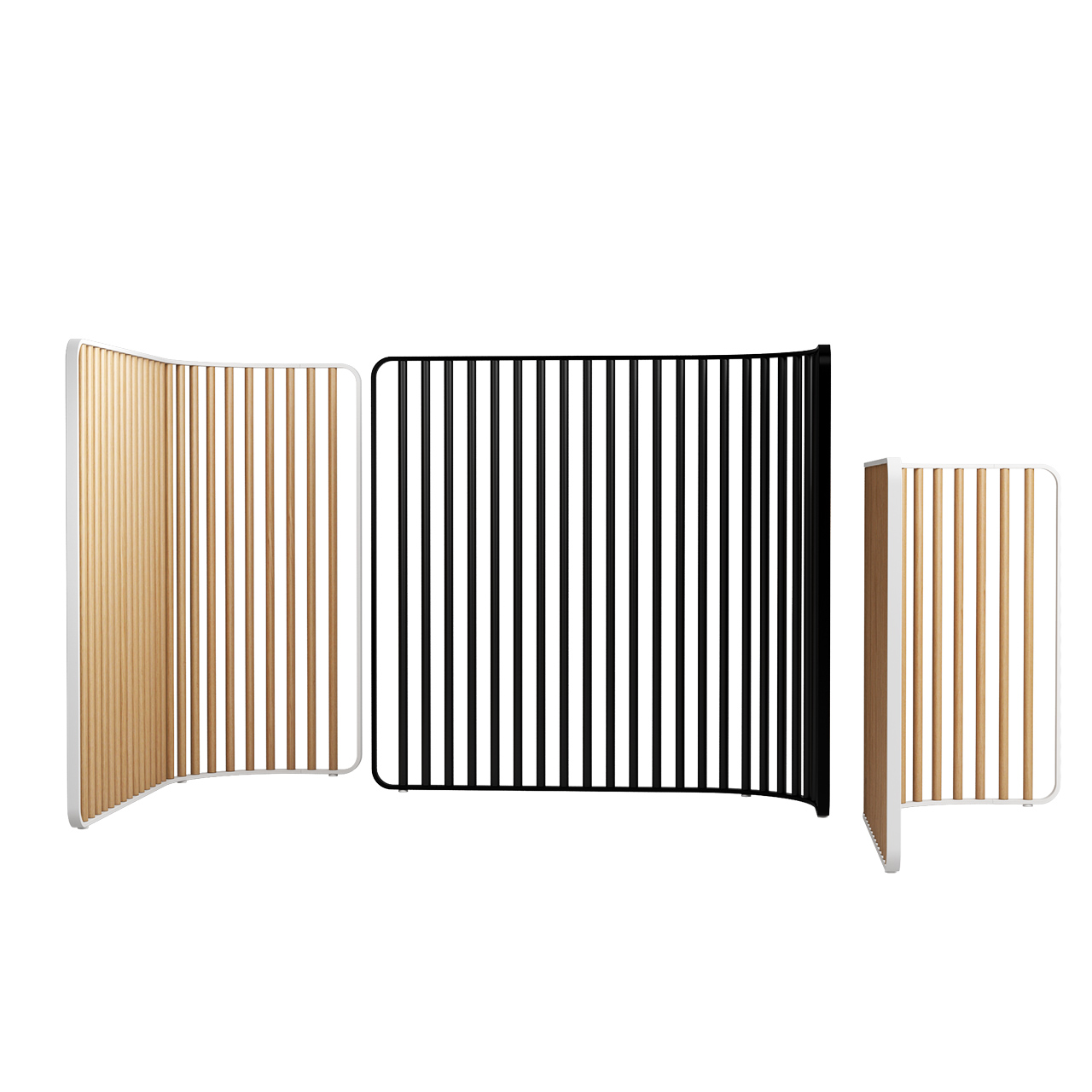 Screen Tubes Space Divider by Lapalma