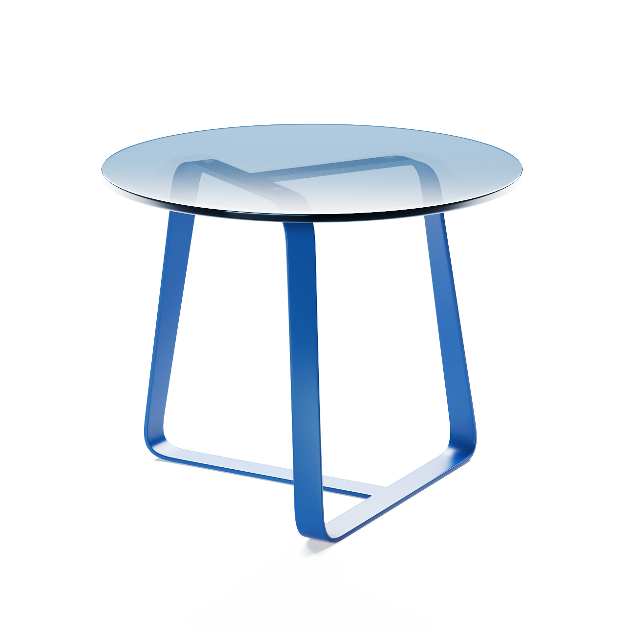 Twister Small Table Round by Desalto