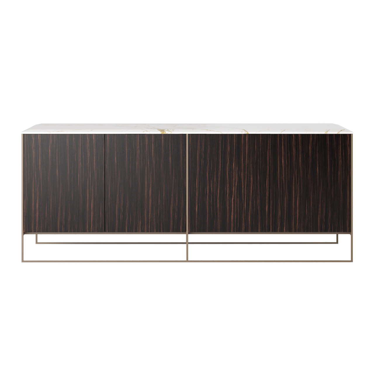Calder Bronze Sideboard by Minotti