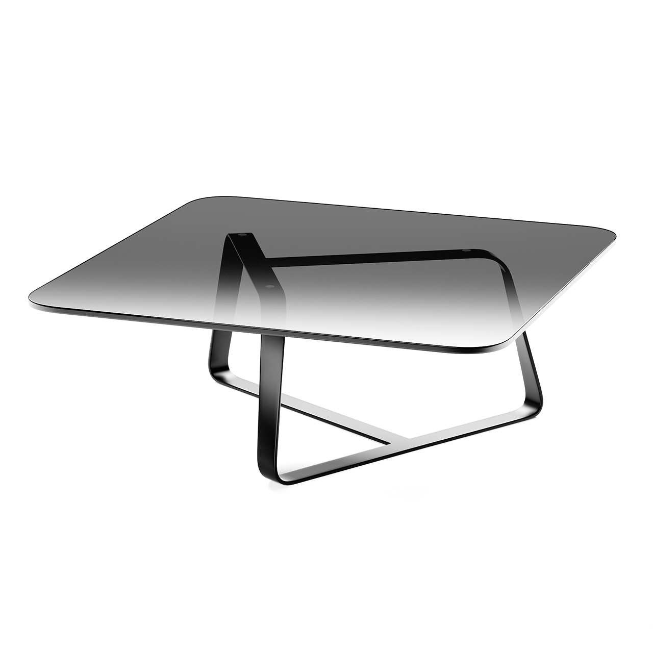 Twister Small Table Square by Desalto