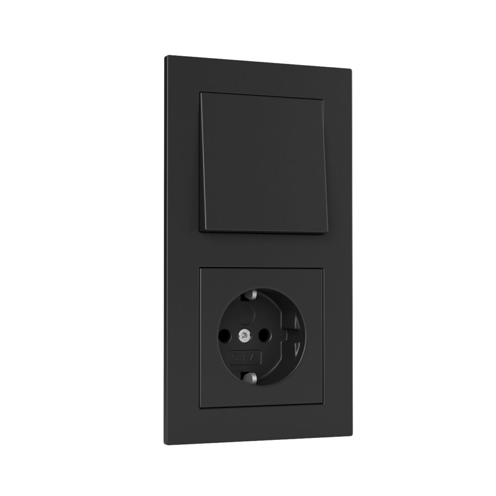 e2 switches and socket by gira dimensiva. Black Bedroom Furniture Sets. Home Design Ideas