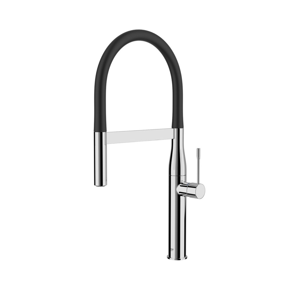 essence new kitchen mixer tap by grohe dimensiva. Black Bedroom Furniture Sets. Home Design Ideas