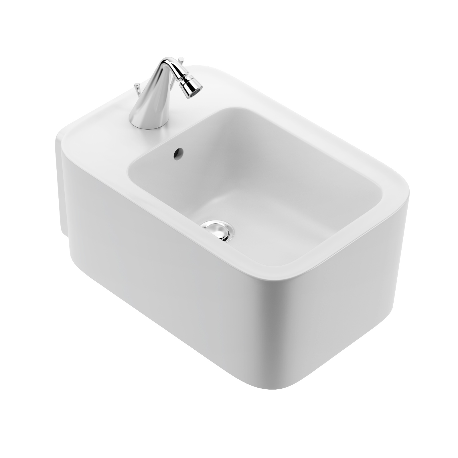 Cameo Wall-hung Bidet by Valdama