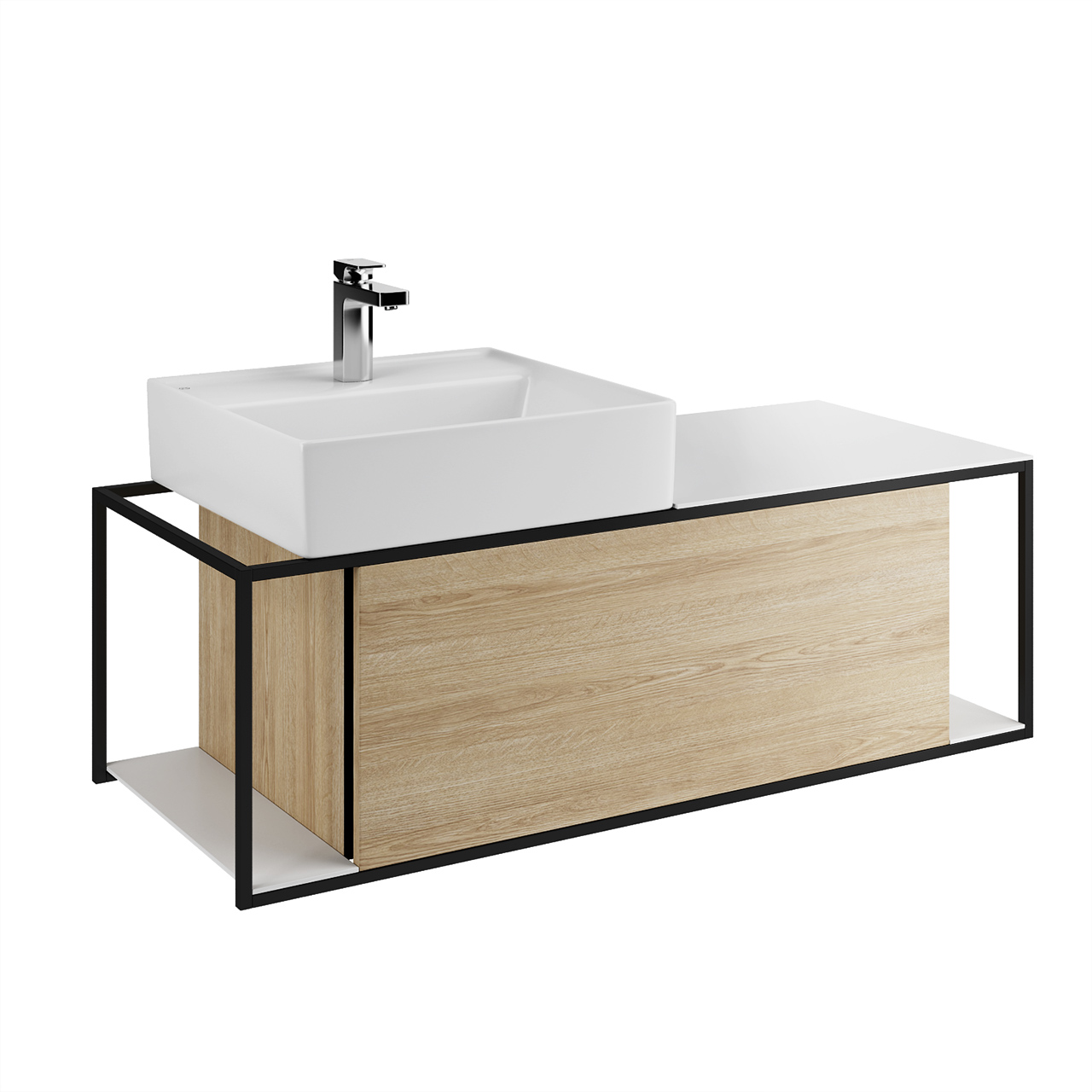 Junit Washbasin Unit by Burgbad