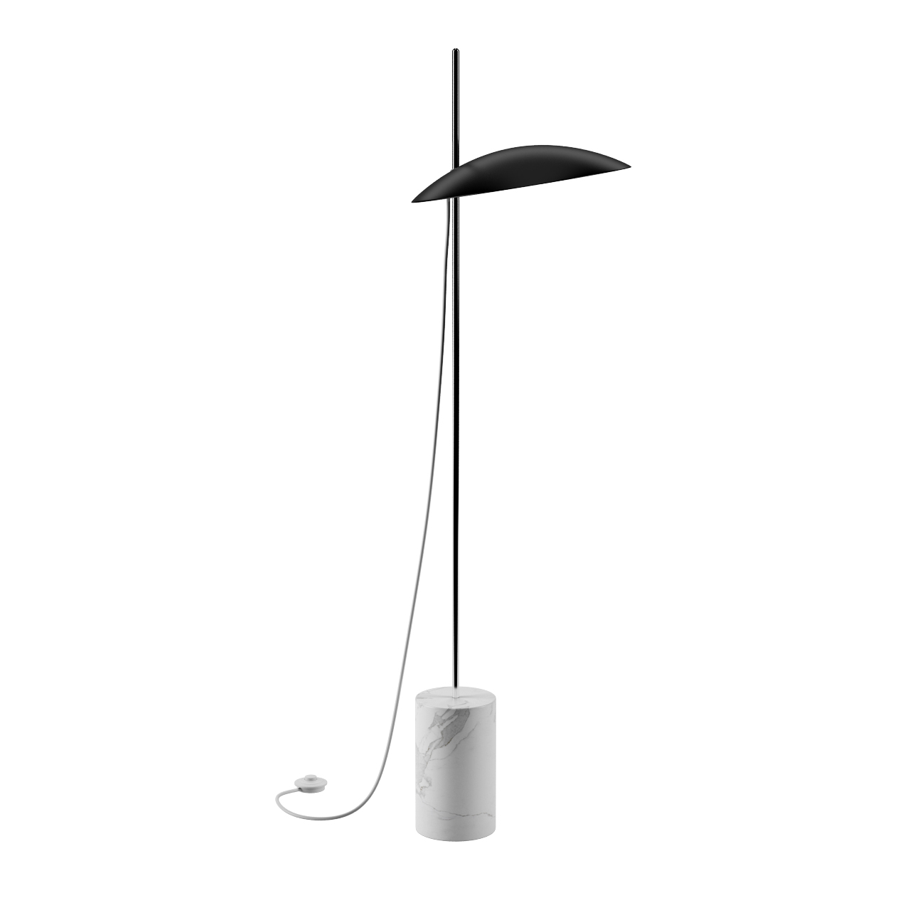Clam Floor Lamp by Inventive