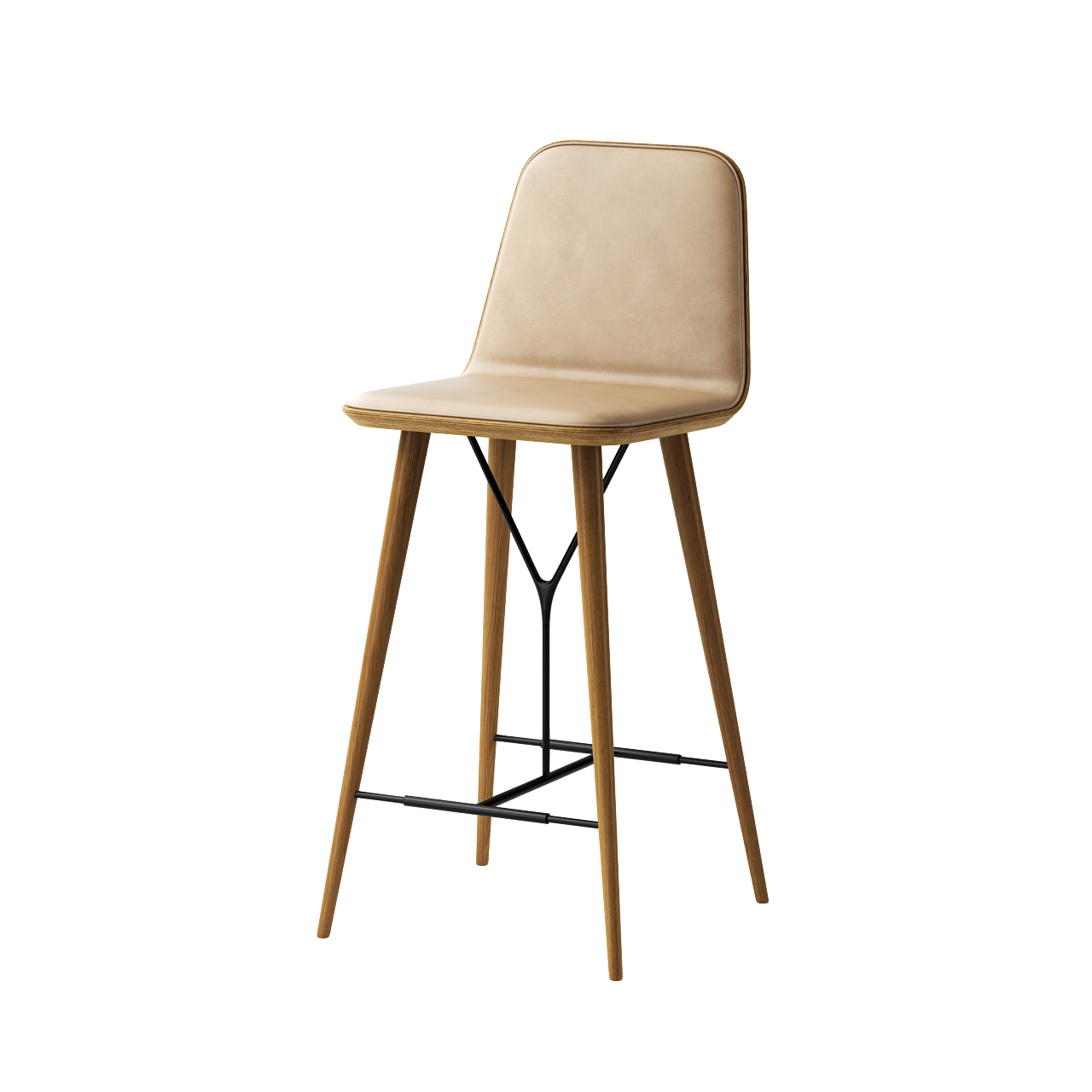 Spine Barstool by Fredericia