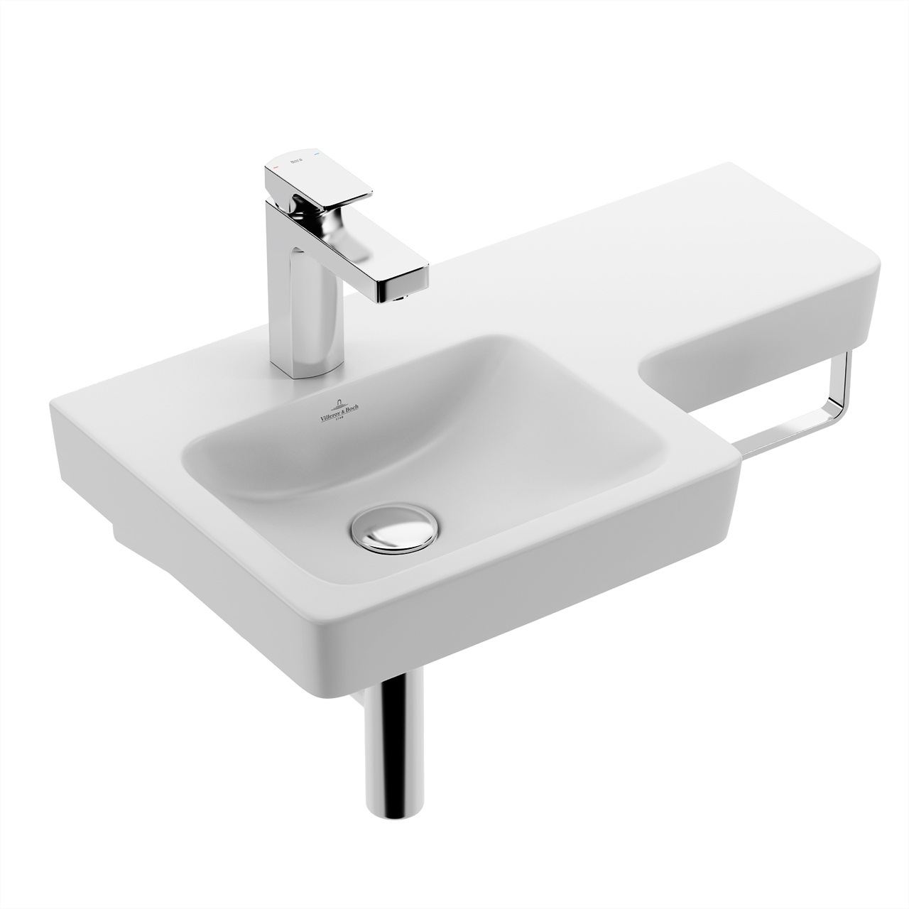 Subway 2.0 Washbasin 630×355 by Villeroy & Boch